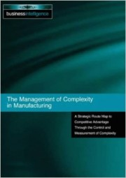 Frizelle - The Management of Complexity in Manufacturing