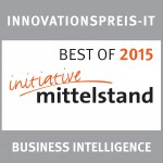 Innovationspreis IT initiative mittelstand im Jahr 2015
