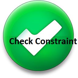 SQL Check Constraint