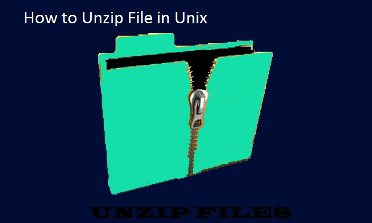 Unzip Command In Unix Unzip Command In Unix With Simple Examples