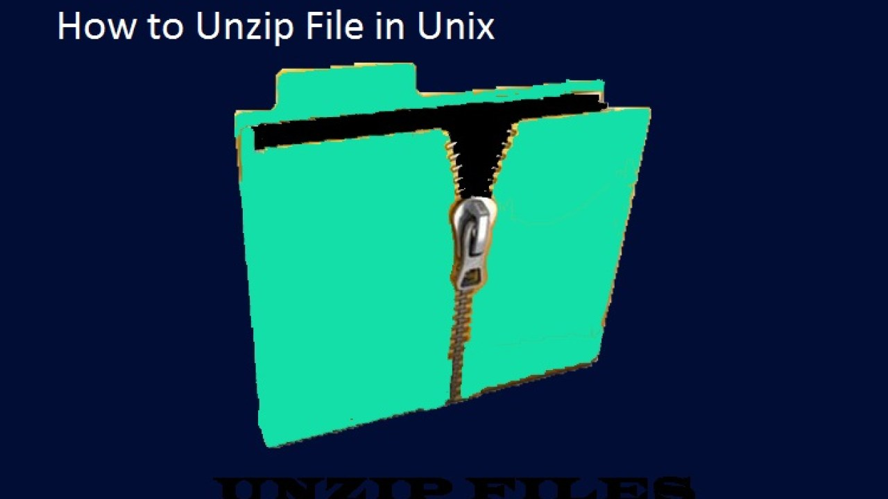 Unzip Command in unix | Unzip Command in unix with Simple