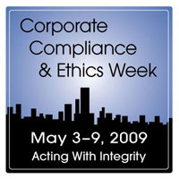 corporate compliance and ethics week