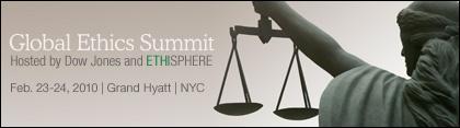 Global Ethics Summitt main banner