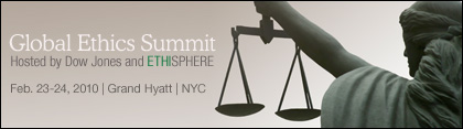 Global Ethics Summitt main banner