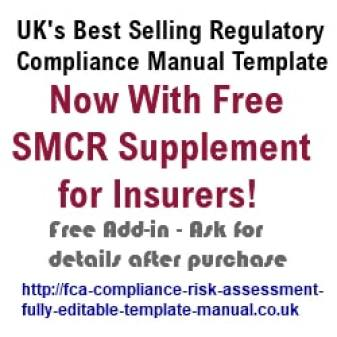 fca template compliance manual smcr supplement