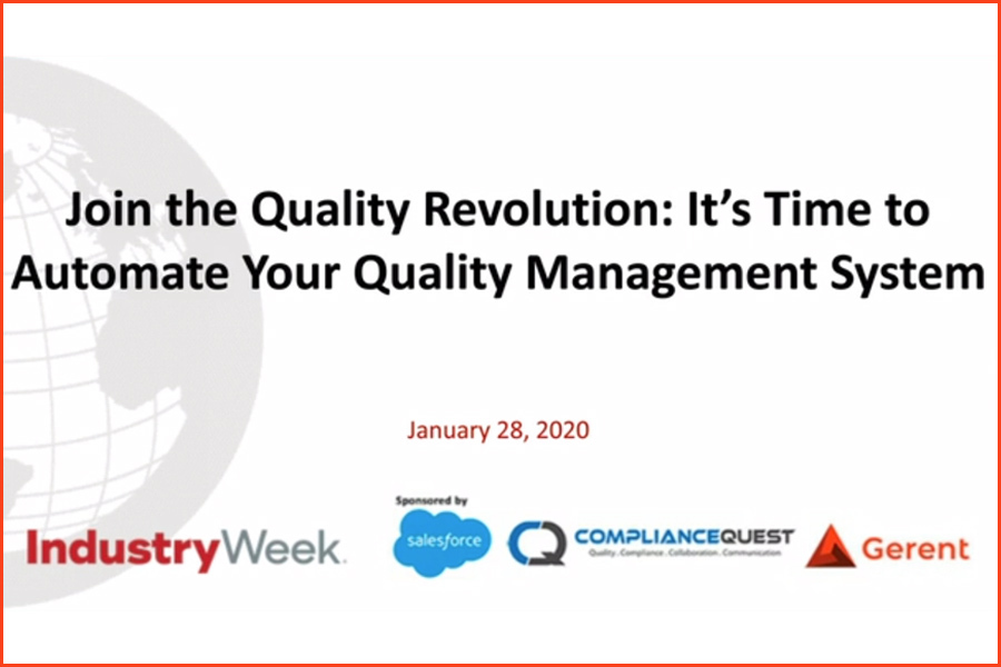 Join the Quality Revolution: It's Time to Automate Your