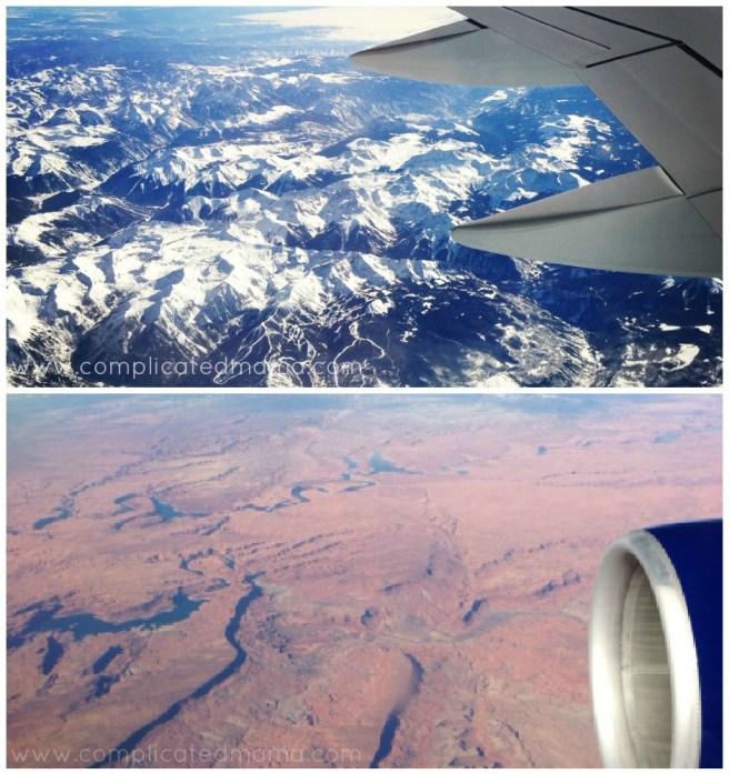 Transcontinental flight delta 212