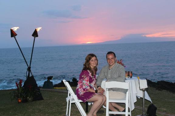 Wailea Beach Marriott -Romantic Dinner For Two- Best Engagement Spot In Maui
