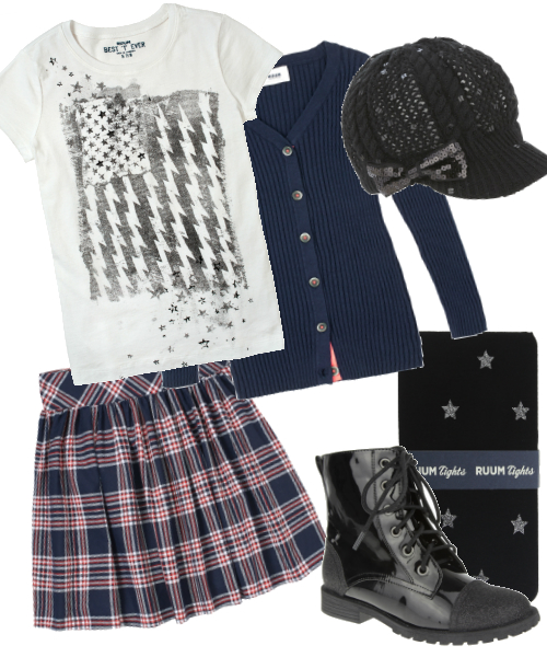plaid grunge fall back to school trend ruum justice 2013 looks