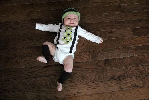 St Patricks Day Baby Photography ideas