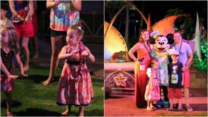 Aulani Starlit Hui Kids Hula Character Meet And Greet