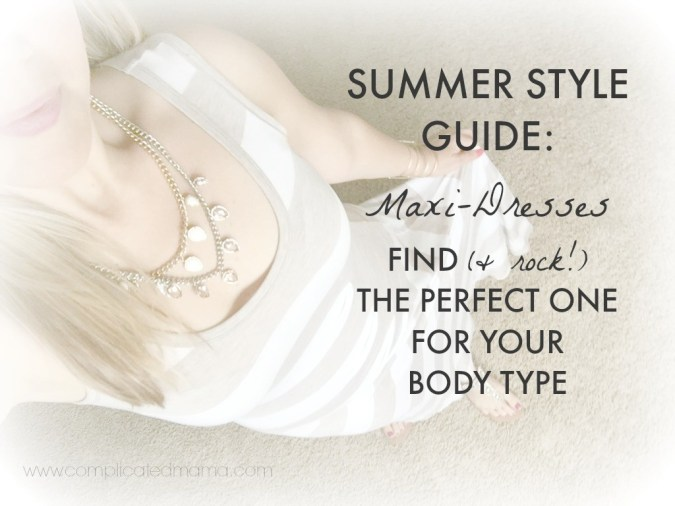 How to find maxi-dress for body type