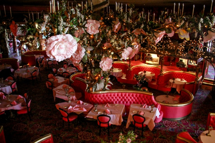 Kids Madonna Inn_ Gold Rush Dining Room Louis Obispo