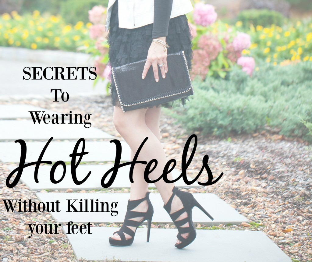 How to wear heels without pain