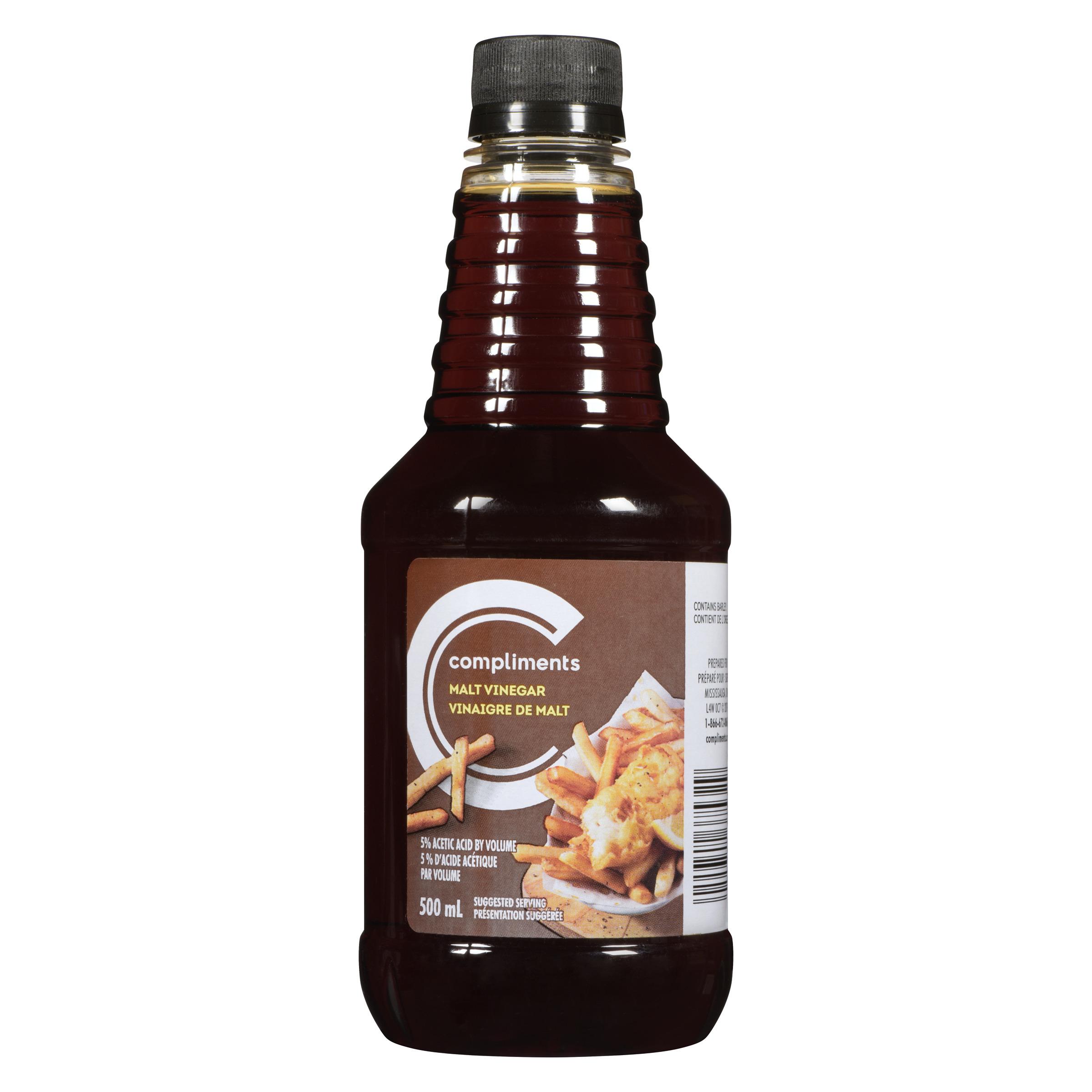 Malt Vinegar 500 ml | Compliments.ca