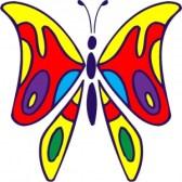 disegno-la-farfalla-colorato-300x300