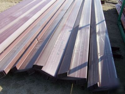 Red Iron Steel 10 Z Purlin Girt 12 To 20 Long