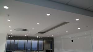 Coffee Station at Anglo America -Bulkhead. Ceilings. Partitions specialist
