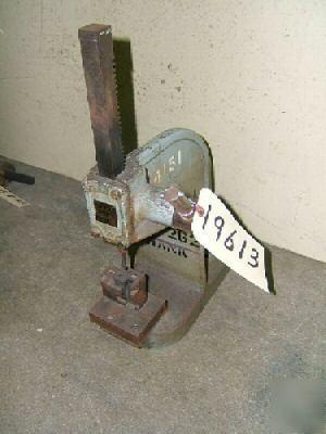 1 1 2 Ton Dake Arbor Press No Y Bench Model 19613