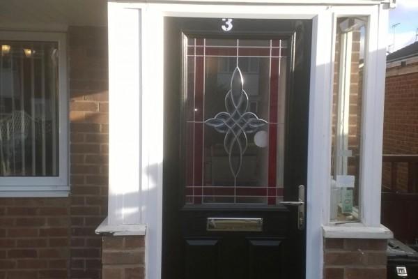 Black-2-Panel-1-Square-Global-Composite-Door 2