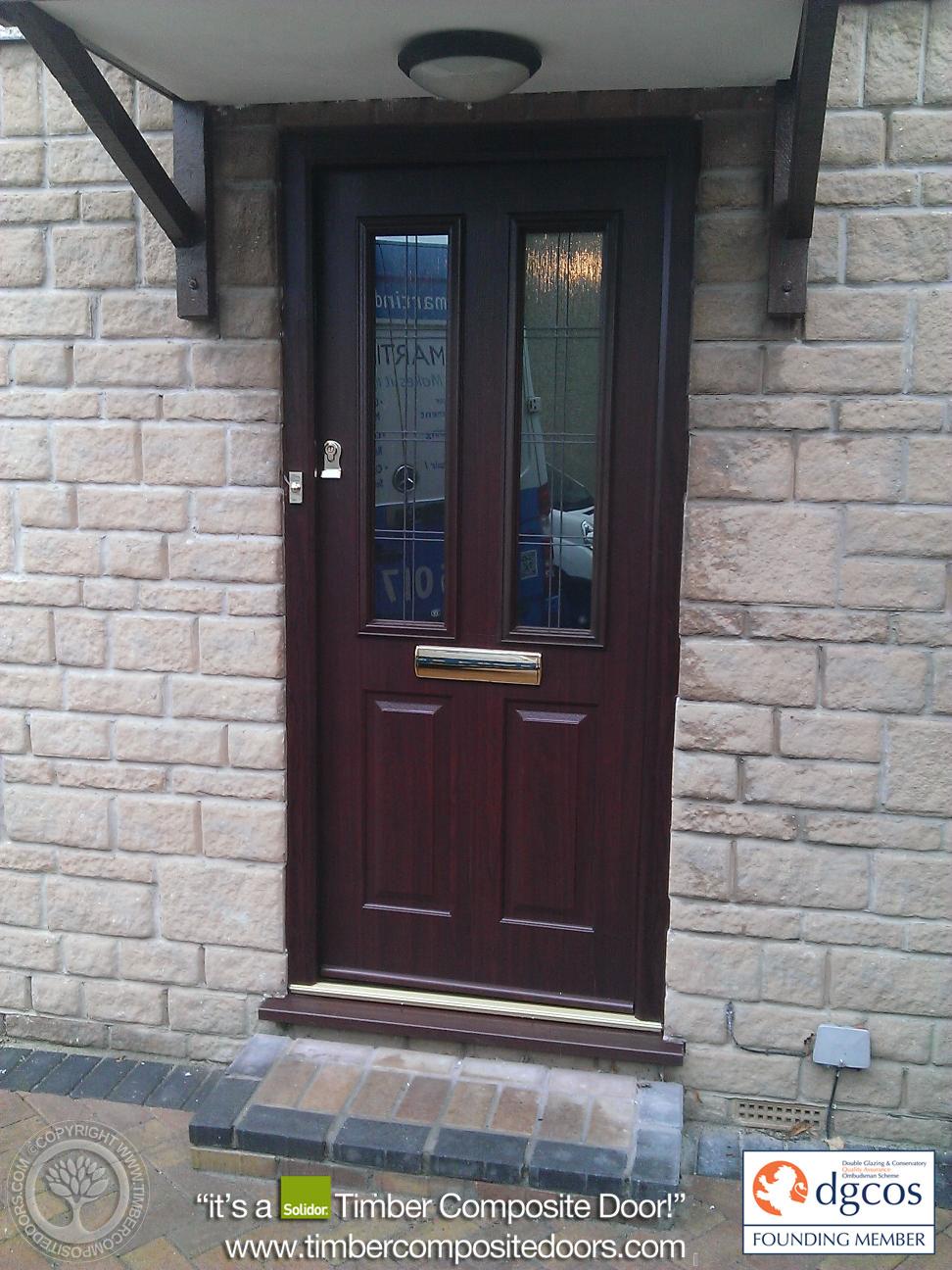 Rosewood Ludlow Solidor Timber Composite Door Composite