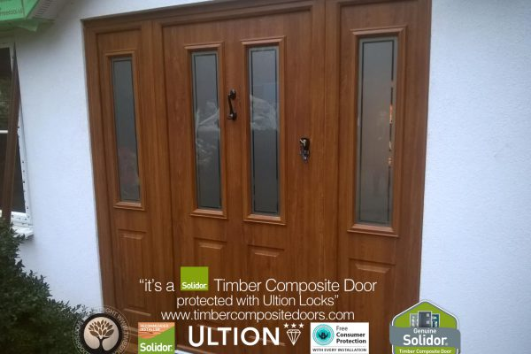 Golden Oak Ludlow 2 with Composite Side Panels