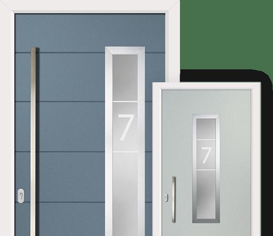 Virtu-AL contemporary door