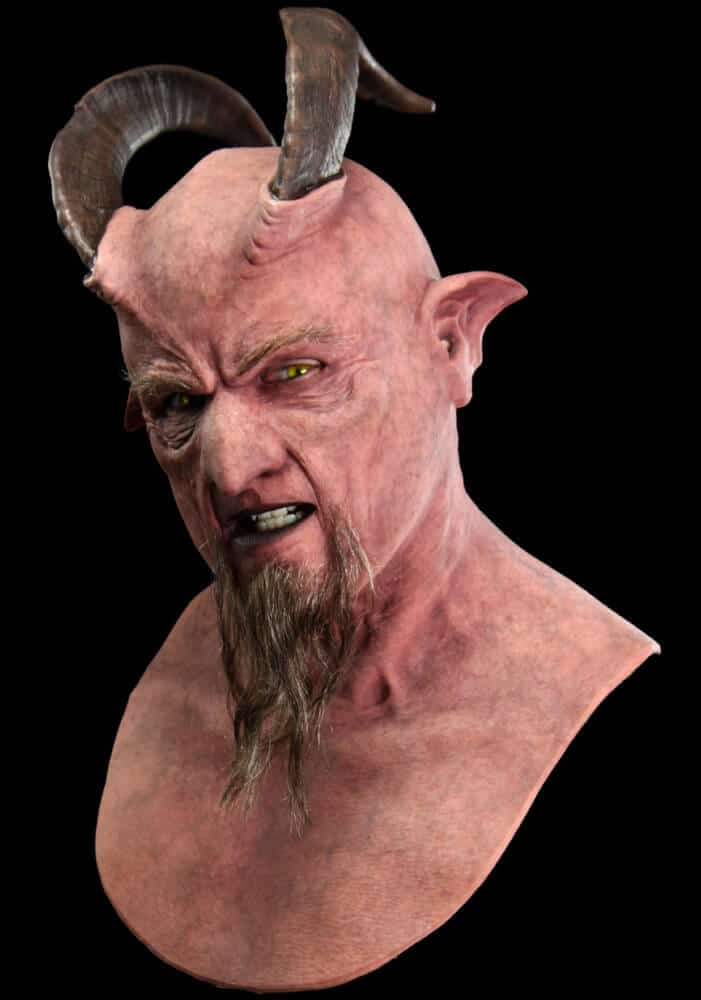 Krampus the Demon Silicone Mask  CFX
