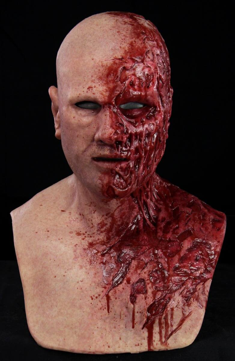 Meatbag the Zombie Silicone Mask  CFX