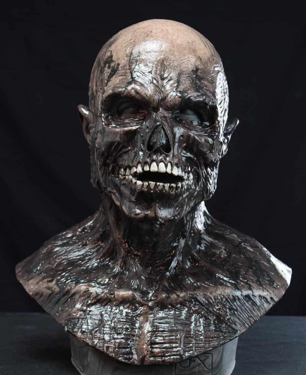 Tar Man Zombie Silicone Mask  CFX