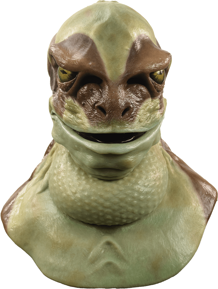 Jeremiah The Bullfrog Silicone Mask Frog Costume Mask