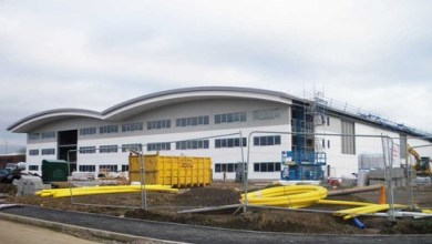 Photo of Building work well underway at CTG's UK Composite Centre of Excellence