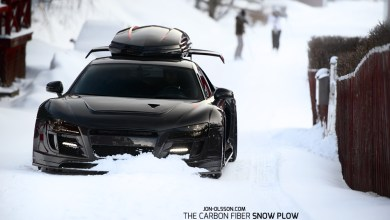 Photo of Audi R8 Carbon Fibre Monster