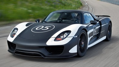 Photo of Porsche 918 Spyder Hybrid Sportscar