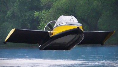 Photo of Flying Hovercraft