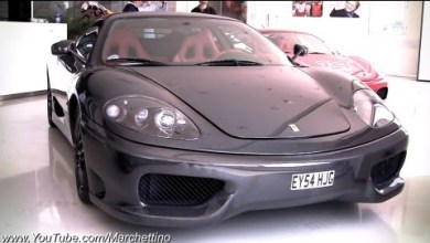 Photo of Full Carbon Fibre Ferrari's