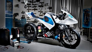 Photo of The Roskva Carbon Fibre Electric Motorbike