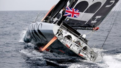 Photo of Alex Thomson Breaks Transatlantic Sailing Record