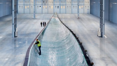 Photo of The Worlds Longest Wind Turbine Blades