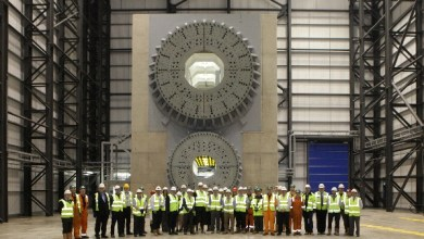 Photo of Construction Finished on UK Wind Turbine Test Facility