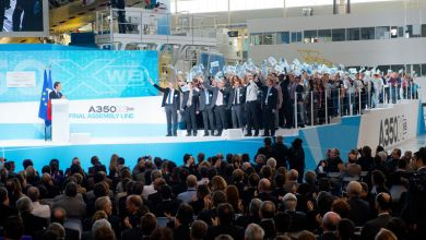 Photo of French Prime Minister inaugurates A350 XWB Assembly Line