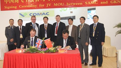 Photo of GKN Aerospace Extends Agreements with SAMC