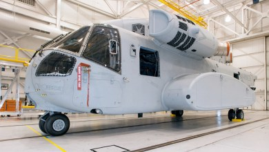 Photo of Sikorsky Delivers First CH-53K Prototype Helicopter to Flight Test Team