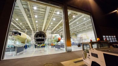 Photo of Third Airbus A350 XWB Takes Shape