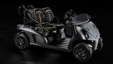 Photo of Garia Mansory Currus Golf Cart