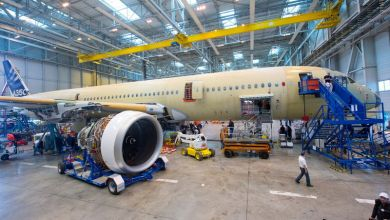 Photo of Airbus Installes Engines on A350 XWB