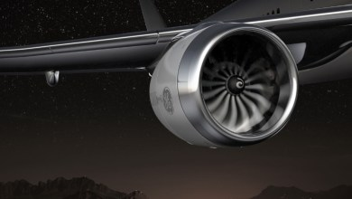 Photo of GE Aviation Begin Testing New Composite Fan Blades
