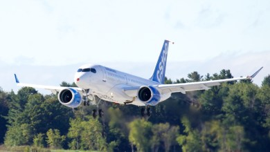 Photo of Bombardier CSeries Completes Maiden Flight
