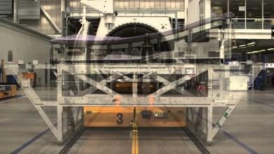Photo of Bombardier's CSeries Transonic Wing