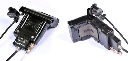 Flexible tool housing are preformed to a nominal radius